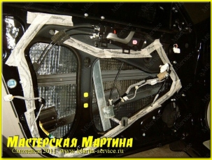 Шумоизоляция Honda Accord 2009 - фото - 42