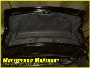 Шумоизоляция Honda Accord 2009 - фото - 10