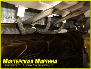Шумоизоляция Honda Accord 2009 - фото - 7