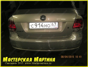 Шумоизоляция Volkswagen Polo Sedan - фото - 72